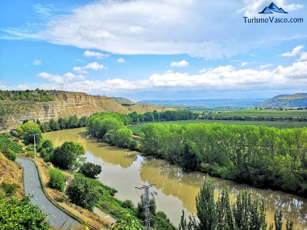 Río Ebro, Rioja Alavesa