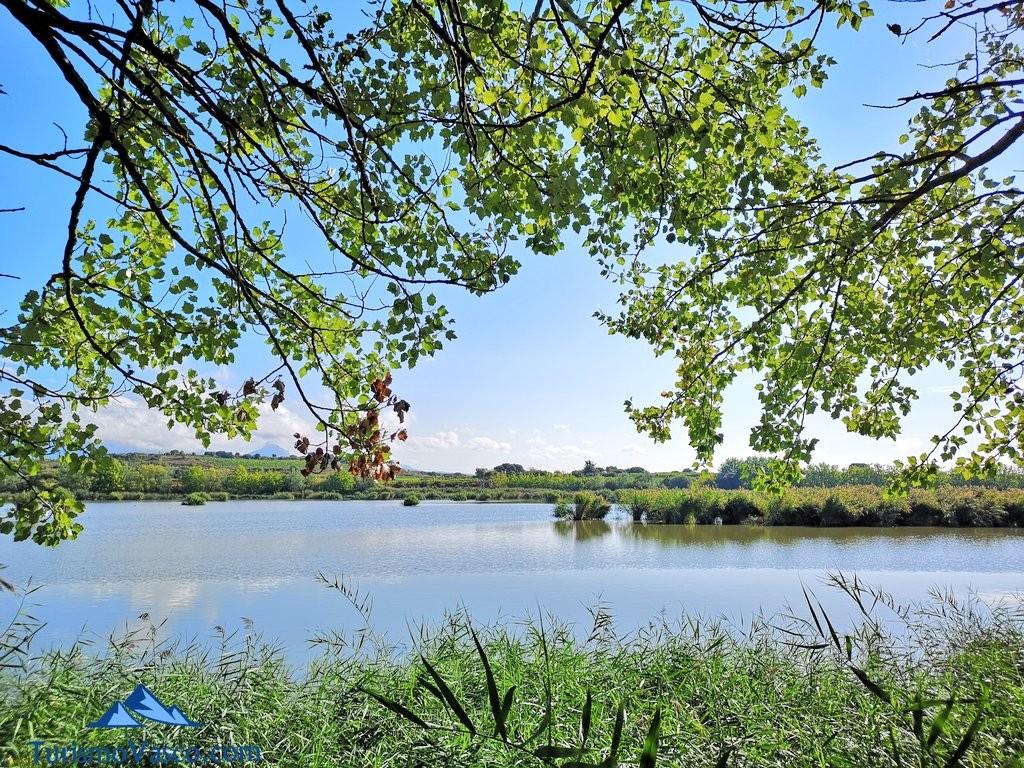 Vistas de las lagunas de laguardia, Rioja Alavesa