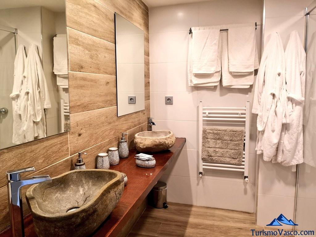 baño casa rural samaniego, la casona de alutiz
