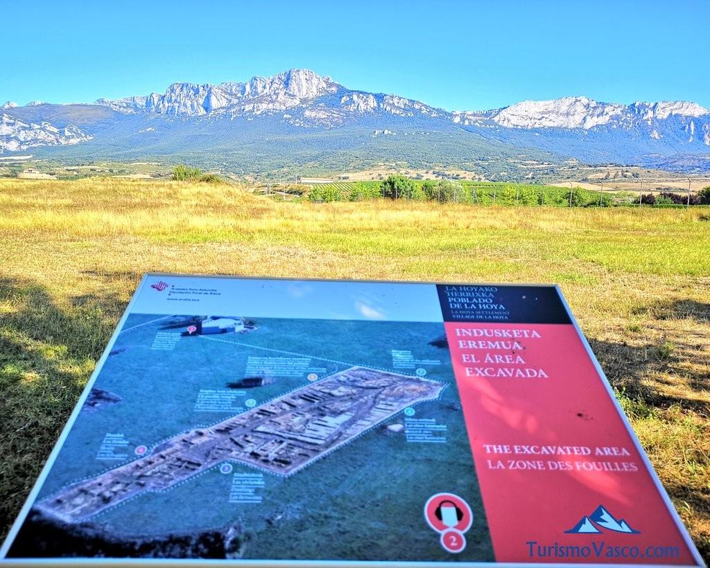 vistas desde Poblado de la Hoya, Laguardia, Rioja Alavesa