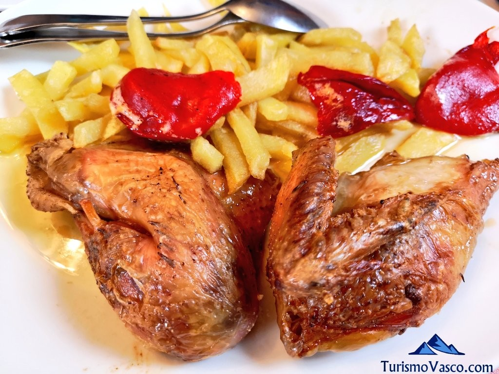 pollo casero, Etxebertzeko Borda