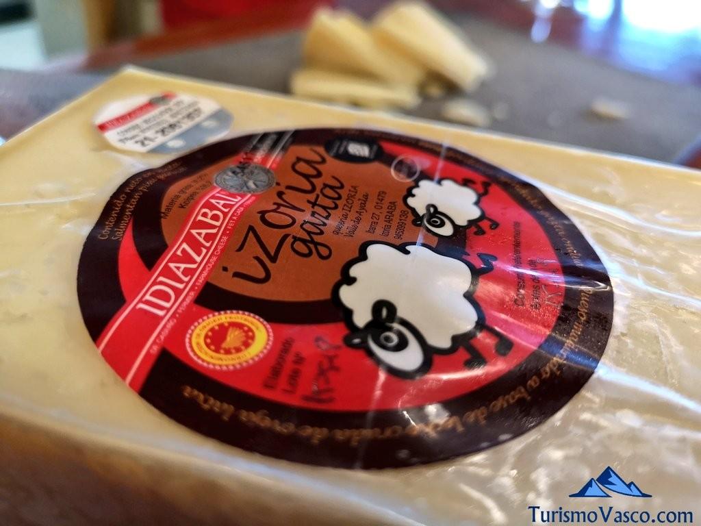 queso Izoria, Bodega Astobiza