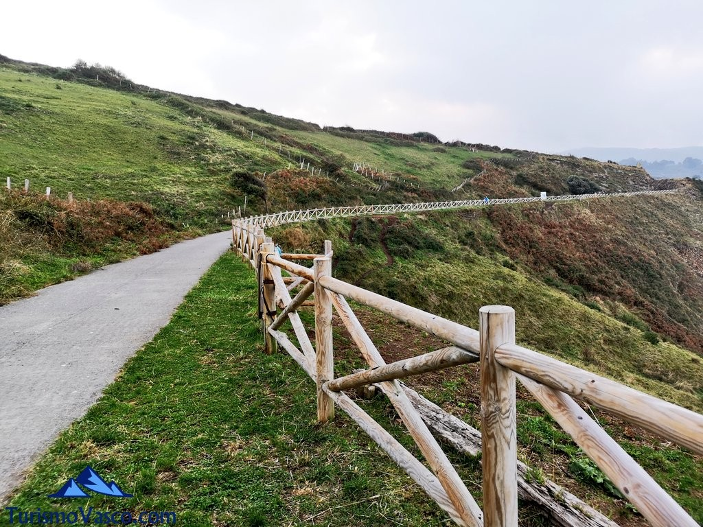 Vía verde Itsaslur, ruta Pobeña Kobaron