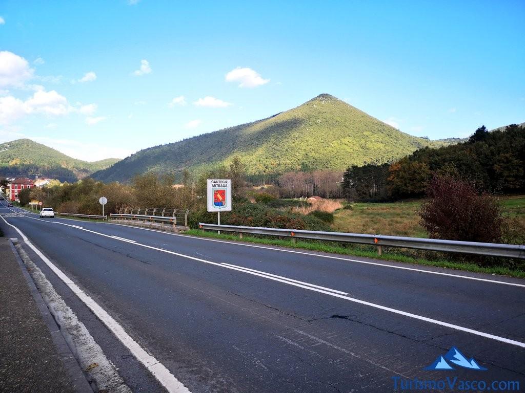 Carretera kortezubi, ruta por urdaibai gernika kortezubi