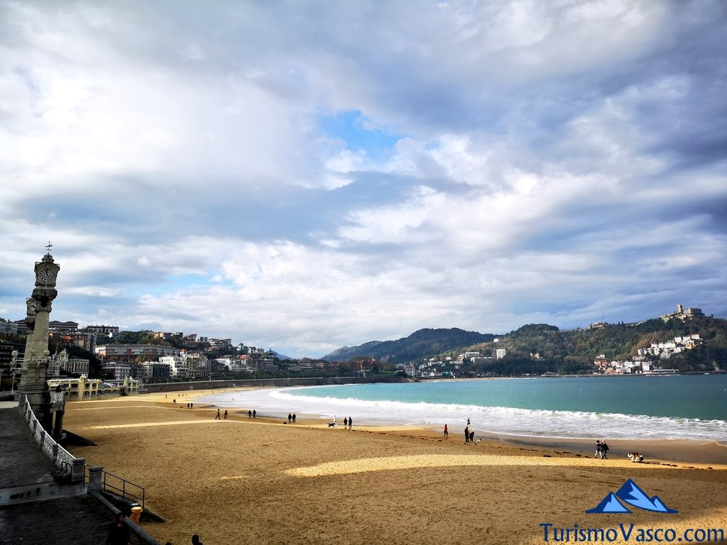 Playa de La Concha, que ver en donostia san sebastian