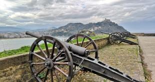 bateria de las damas, Monte Urgull