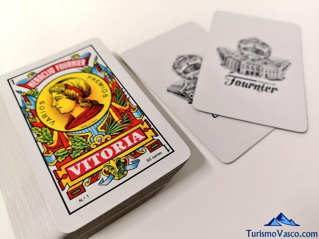 cartas de fournier gasteiz vitoria