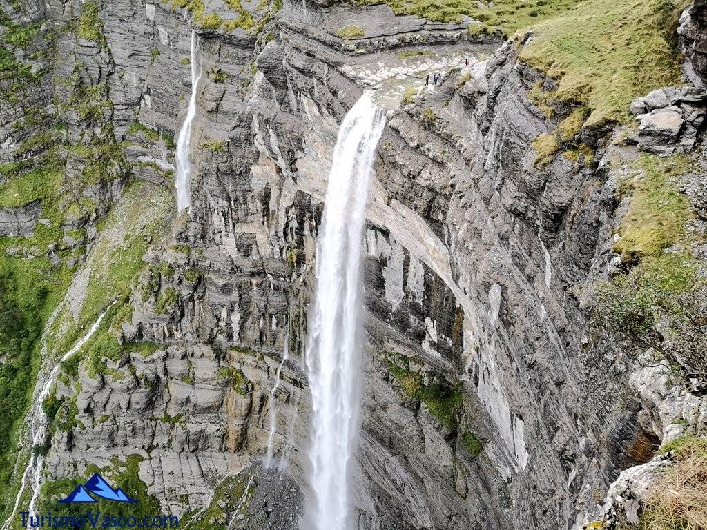 cascada mas alta peninsula, Salto del Nervión