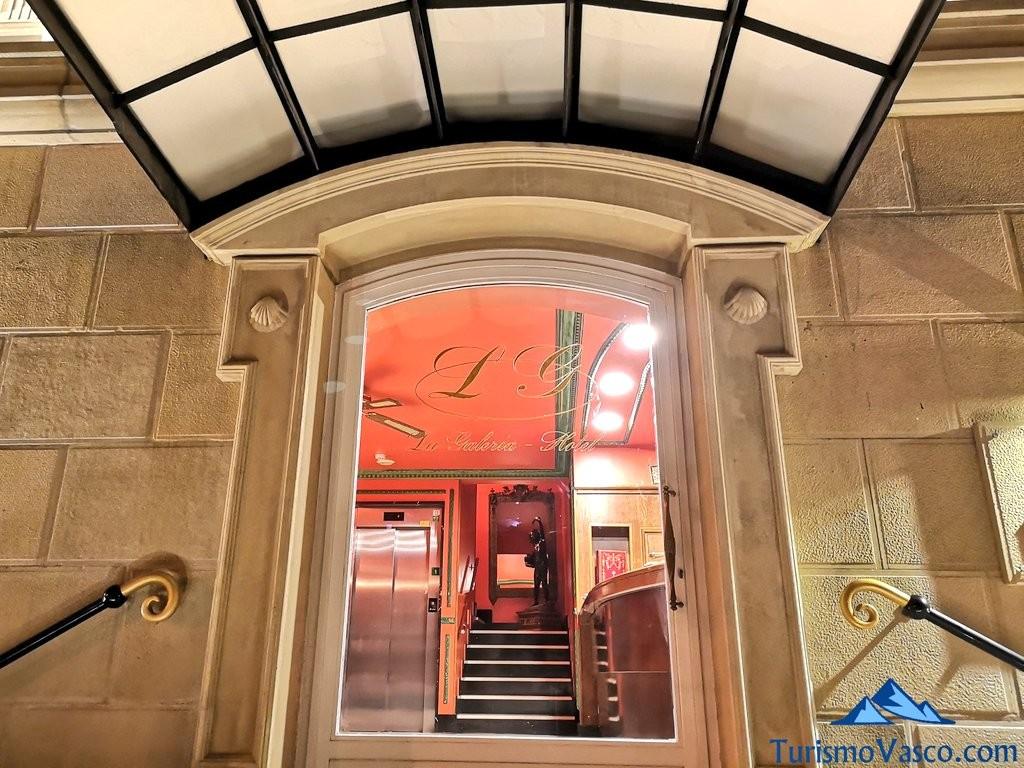 entrada Hotel la galeria