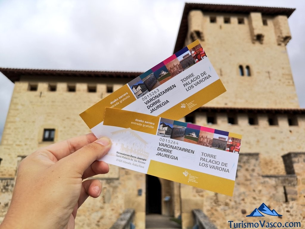 entradas visita guiada Torre Palacio de los Varona