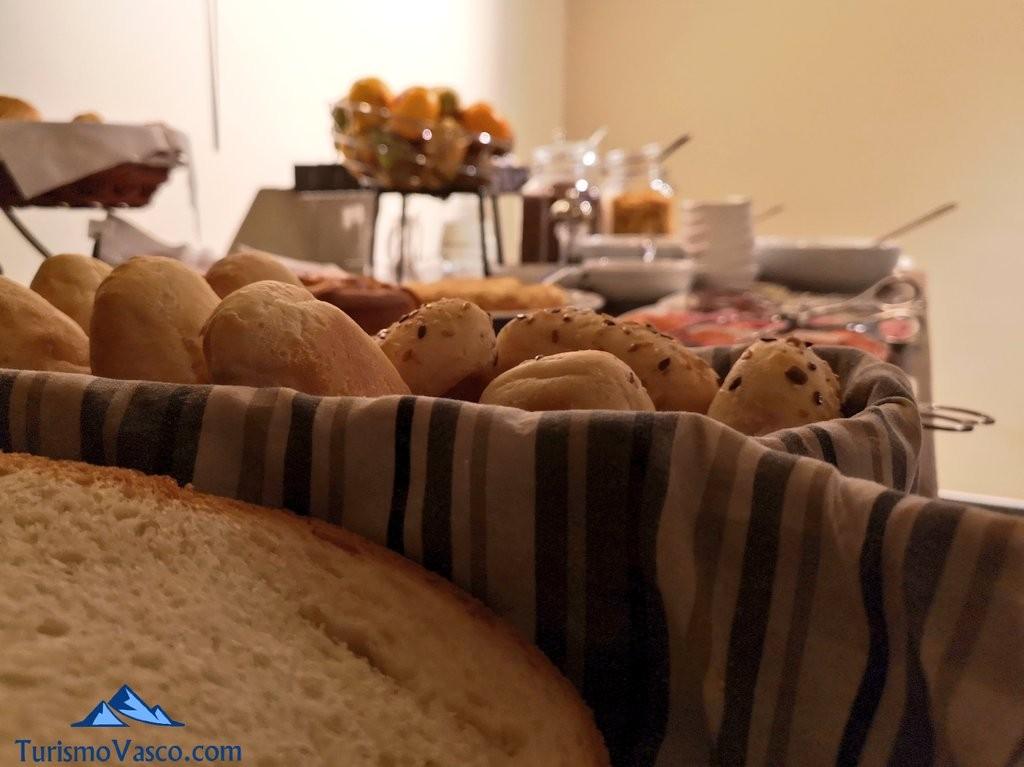 pan desayuno Hotel la galeria