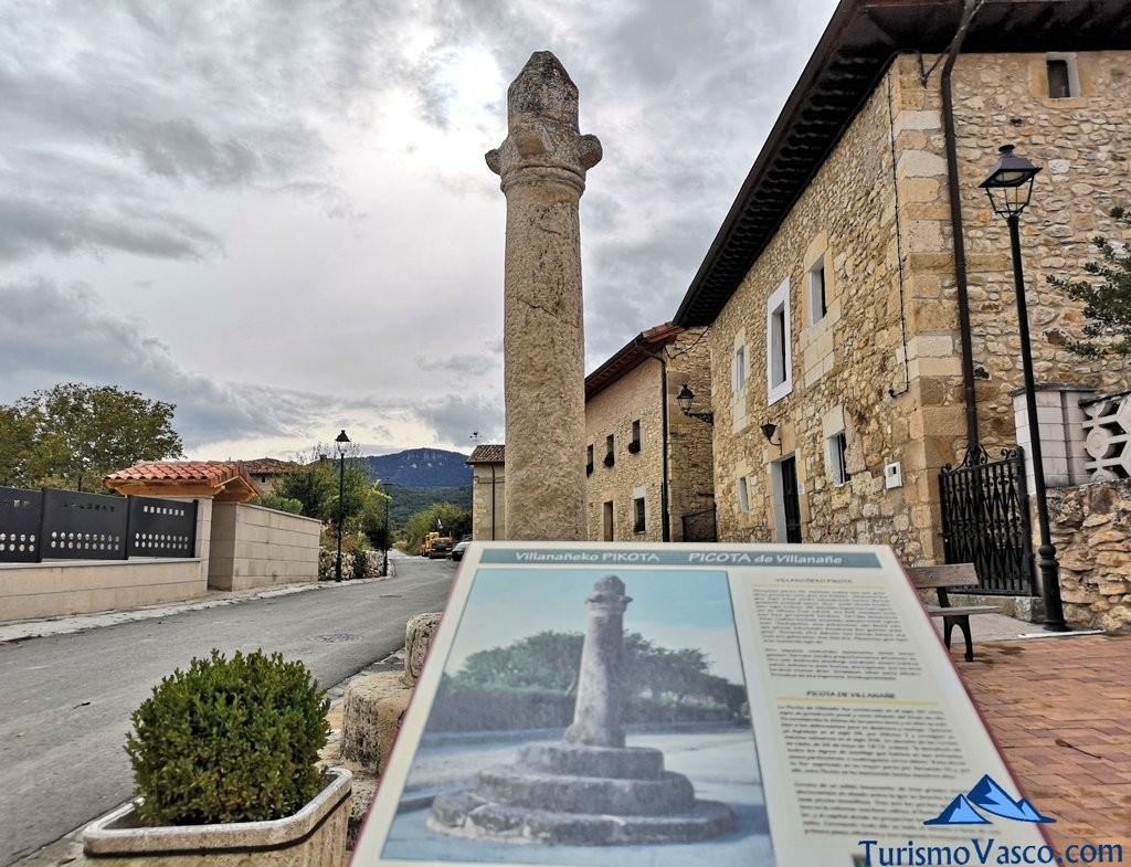 picota de Villanañe, torre de los Varona