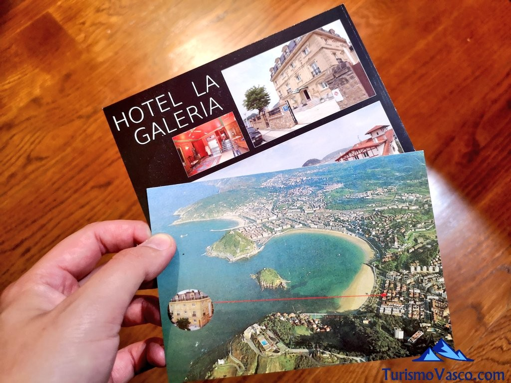 postales, Hotel la galeria