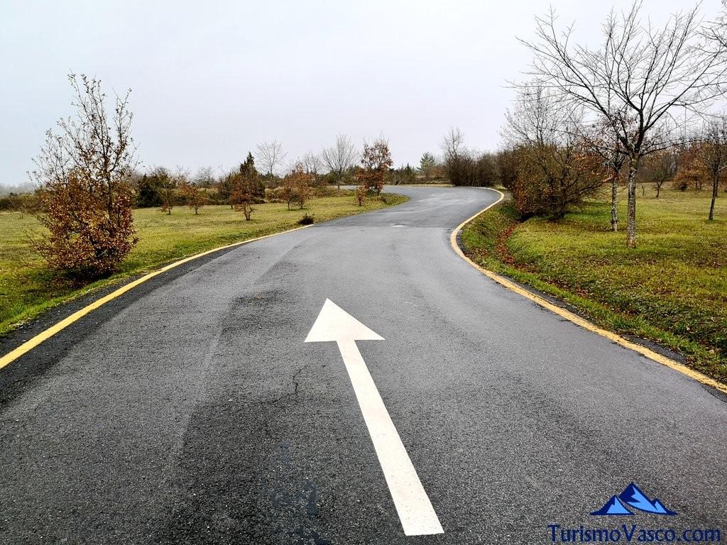 carretera, Ruta embalse Ullibarri Gamboa