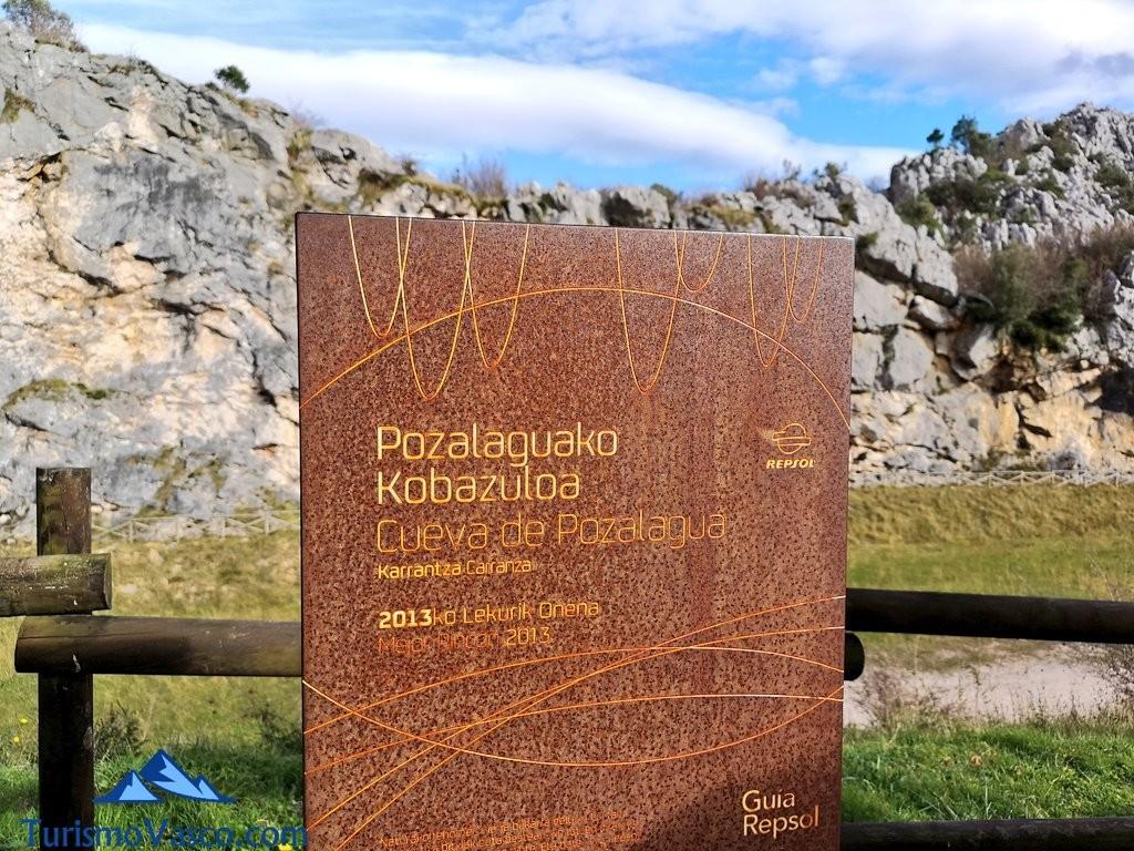 cartel Cueva de Pozalagua