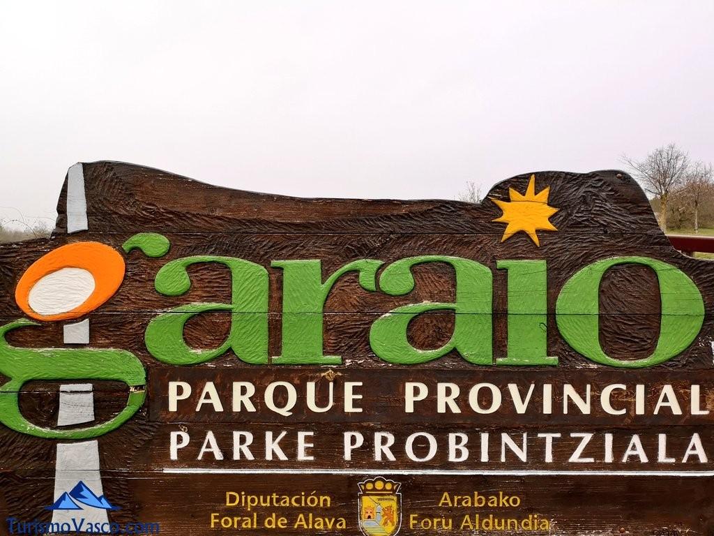 cartel garaio Ruta Ullibarri Gamboa