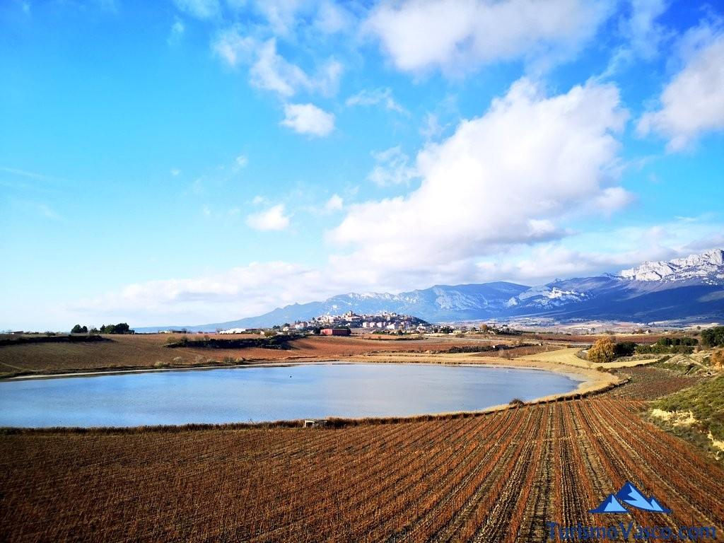 laguna y laguardia, ruta por Laguardia y sus lagunas