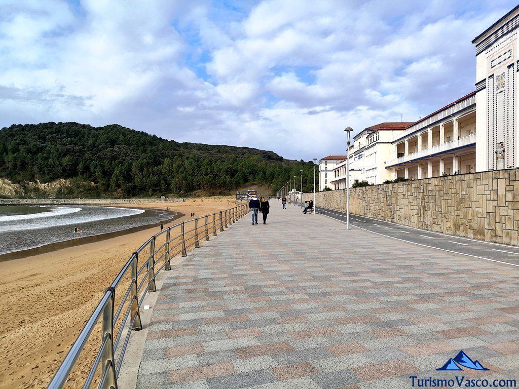 paseo maritimo, ruta Plentzia Gorliz