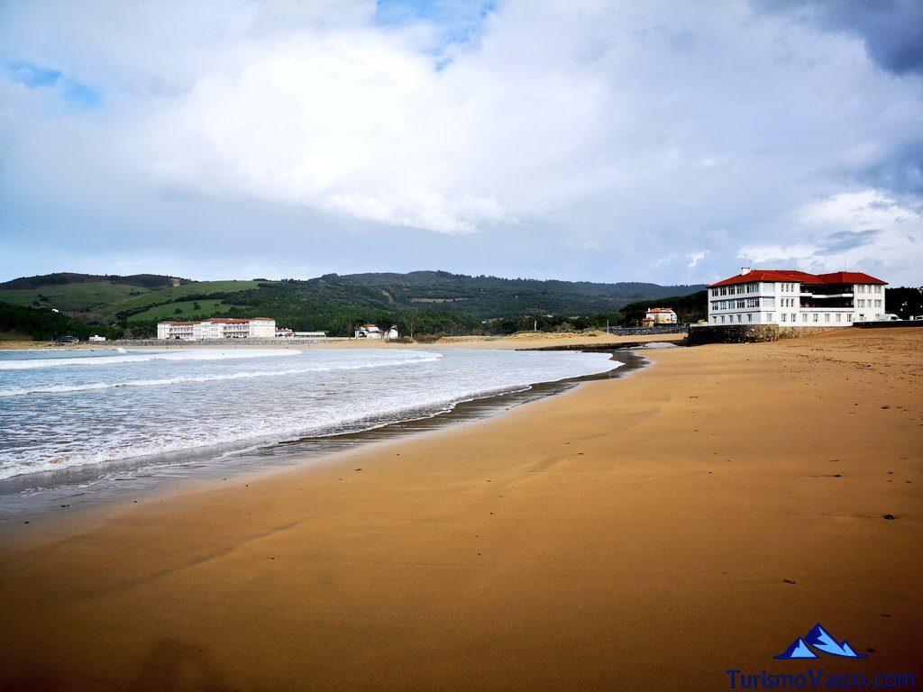 playa plentzia, ruta Plentzia Gorliz