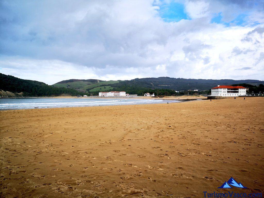 playas de Plentzia y Gorliz, ruta Plentzia Gorliz