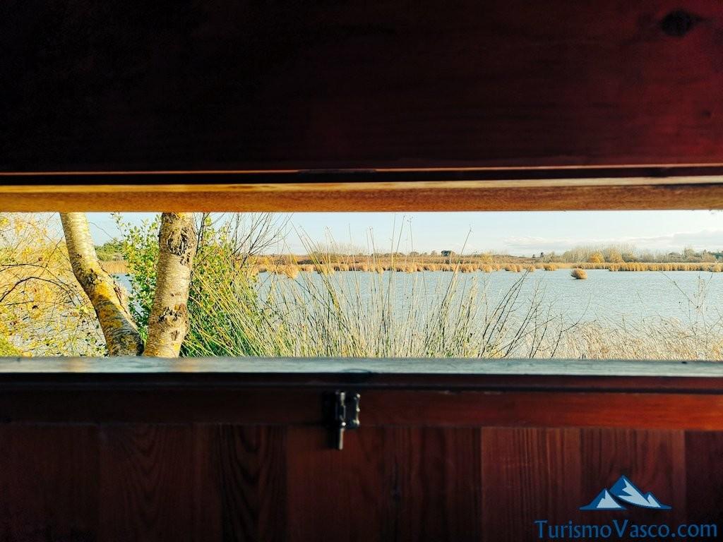vistas, ruta por Laguardia y sus lagunas
