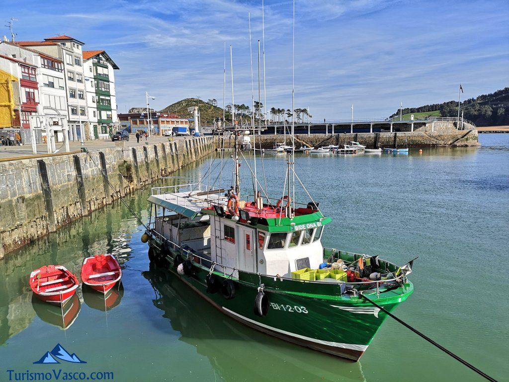 barcos puerto pesquero de Lekeitio