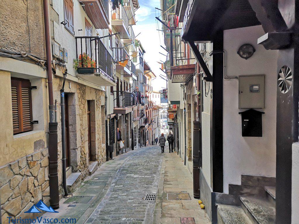 calle del casco historico de Lekeitio