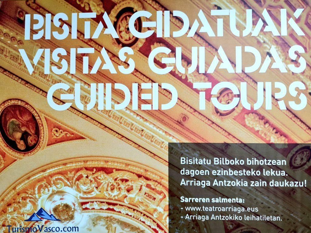 cartel, Visita guiada al teatro arriaga