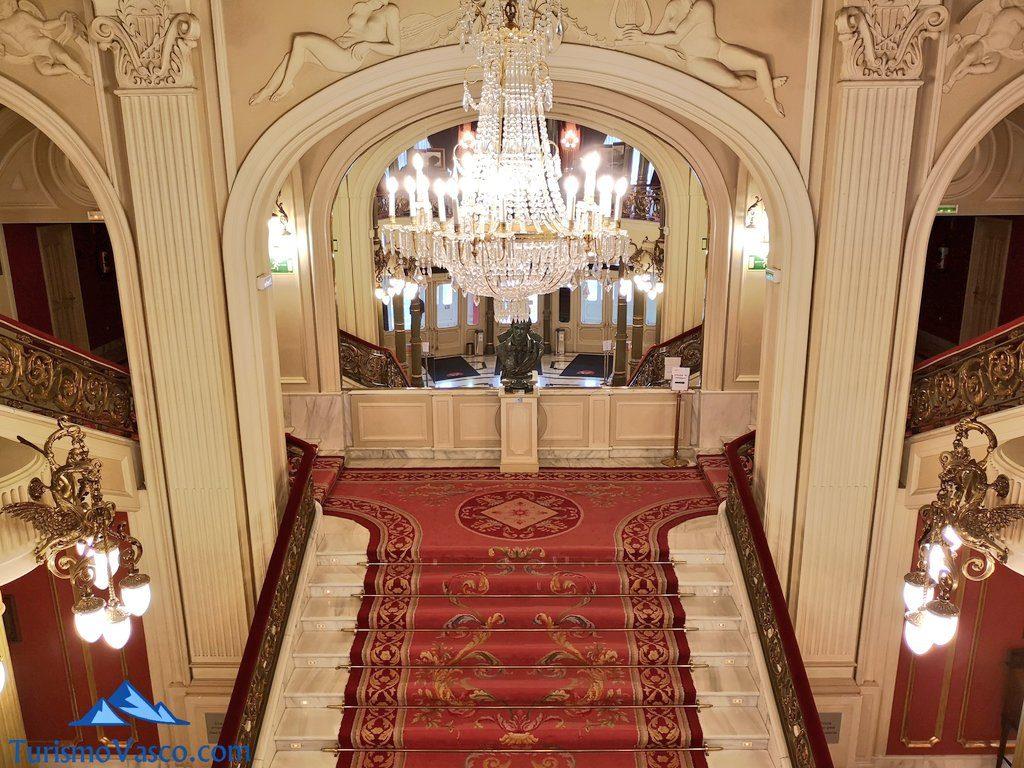 entrada, Visita guiada al teatro arriaga