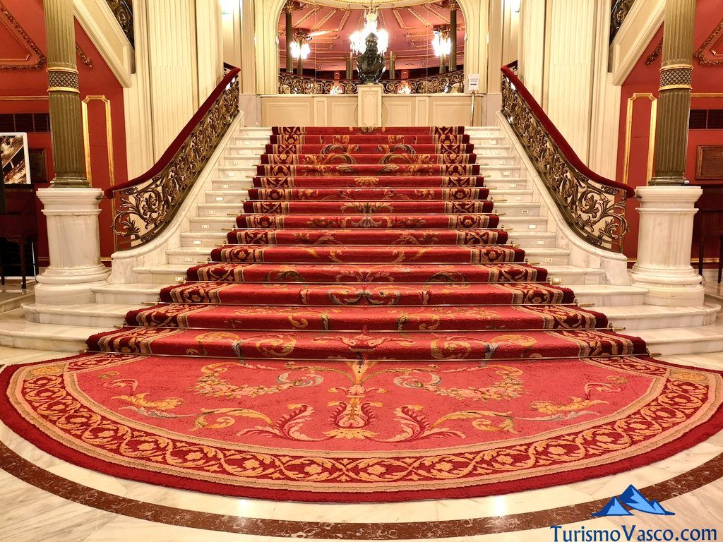 escaleras, Visita guiada al teatro arriaga