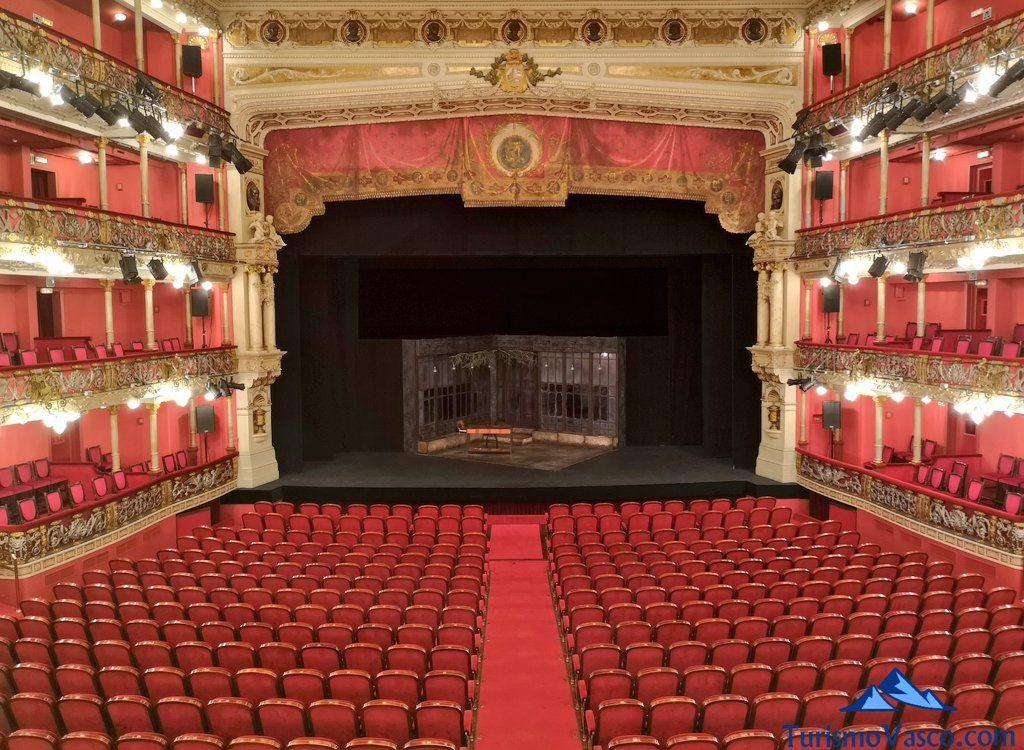 escenario, Visita guiada al teatro arriaga