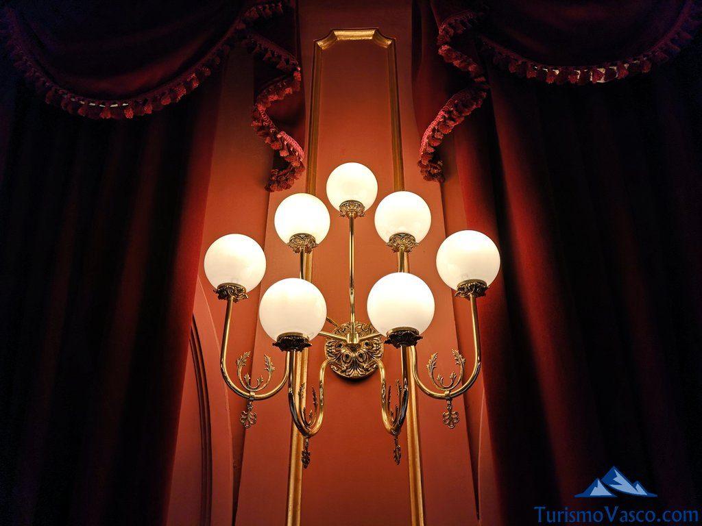 lampara, Visita guiada al teatro arriaga