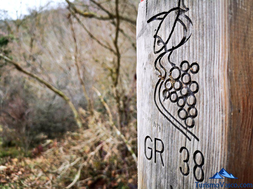 ruta del vino y el pescado GR38 , Ruta Okina Saseta