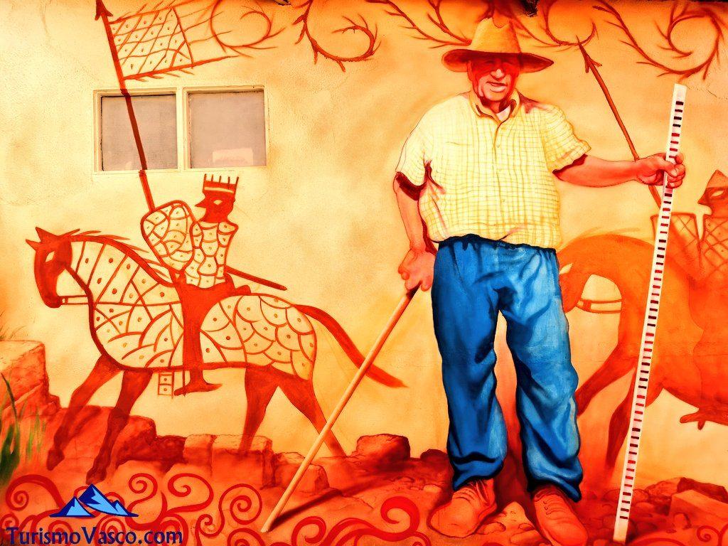 murales, Castillo de Portilla