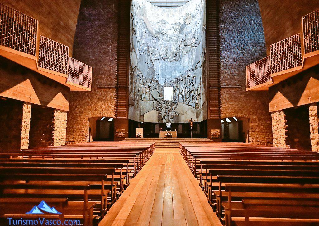 retablo, Santuario de Arantzazu