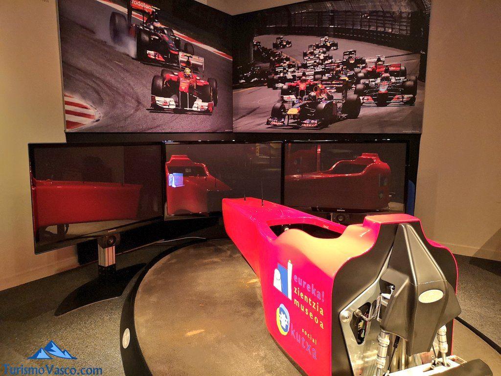 simulador, Museo de la ciencia, Eureka Zientzia Museoa