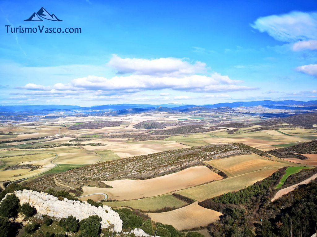 vistas de araba, Castillo de Portilla