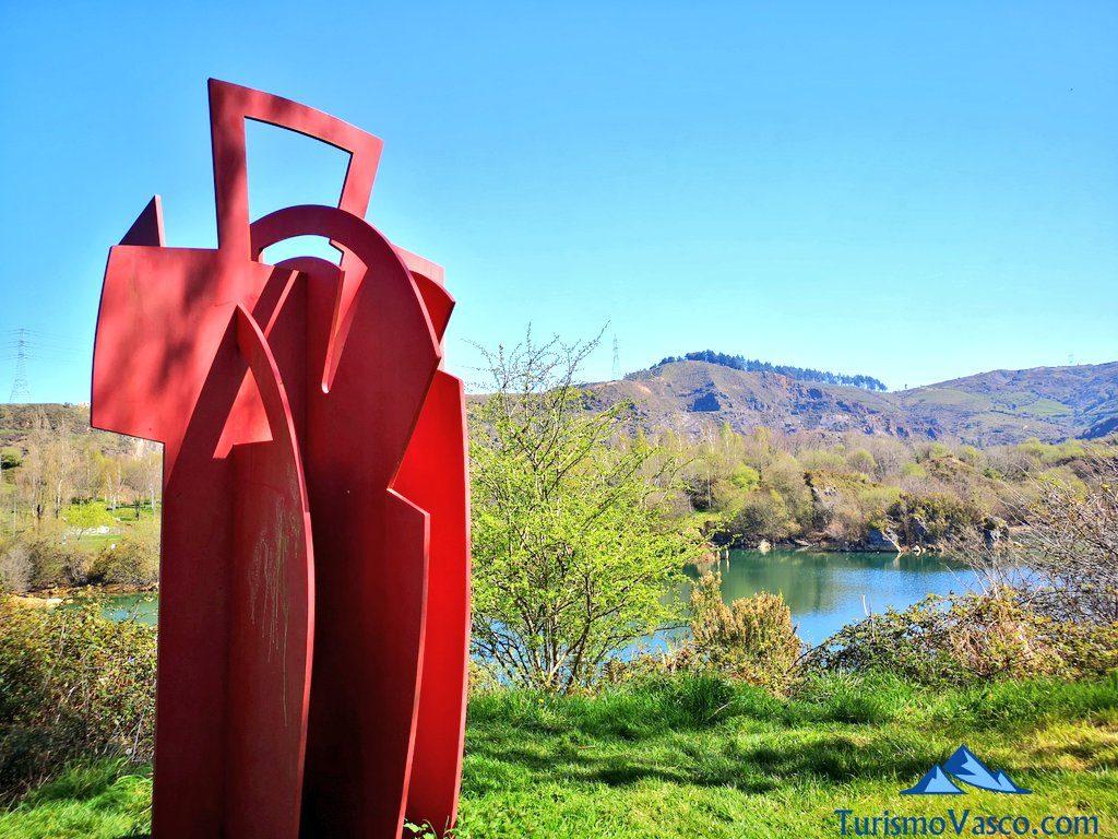 escultura parque zugaztieta, La Arboleda