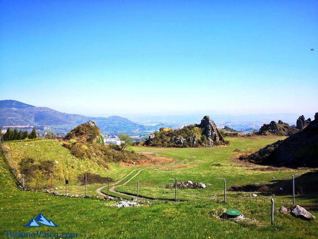 vistas campo de tiro, La Arboleda