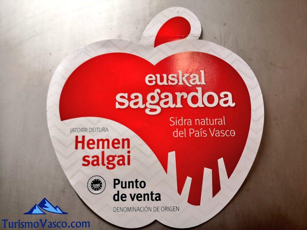 logo denominacion de origen Euskal Sagardoa, sidra vasca