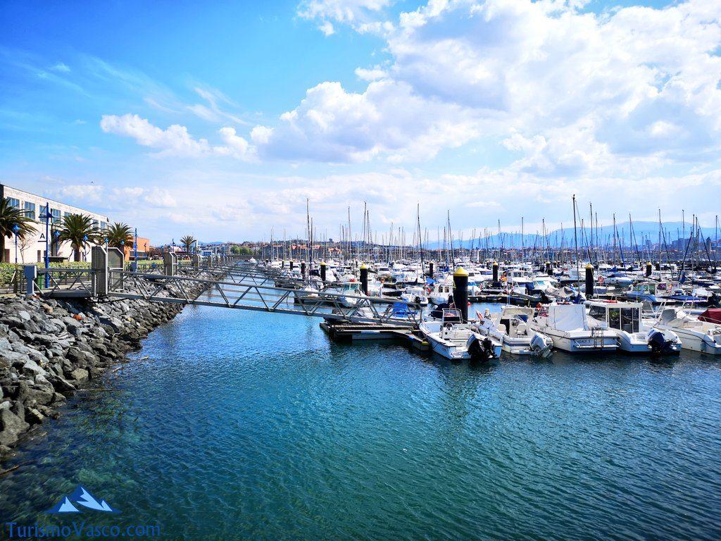 puerto deportivo getxo, salidas en velero en Getxo