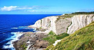 acantilados, ruta geologica por el Flysch de Getxo
