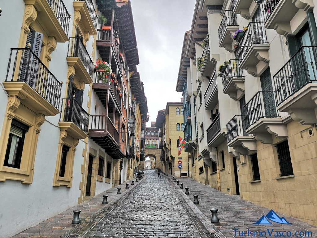 calles casco historico, Hondarribia que ver