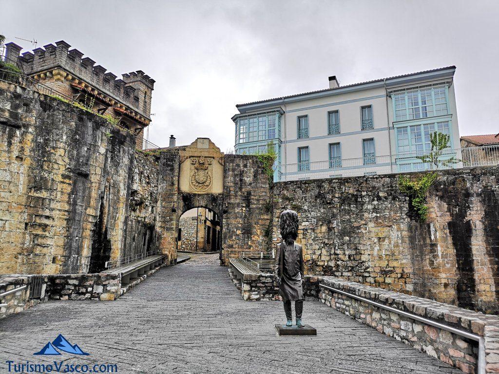 entrada casco historico, Hondarribia que ver