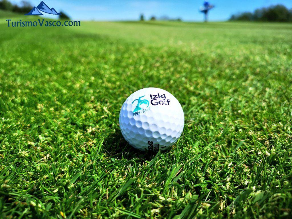 pelota golf izki, golf en euskadi
