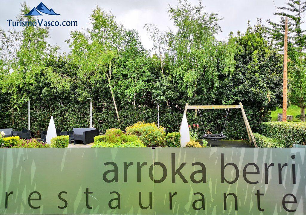 terraza restaurante arrokaberri hondarribia