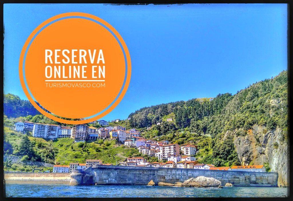 Reserva online ruta en barco Euskadi