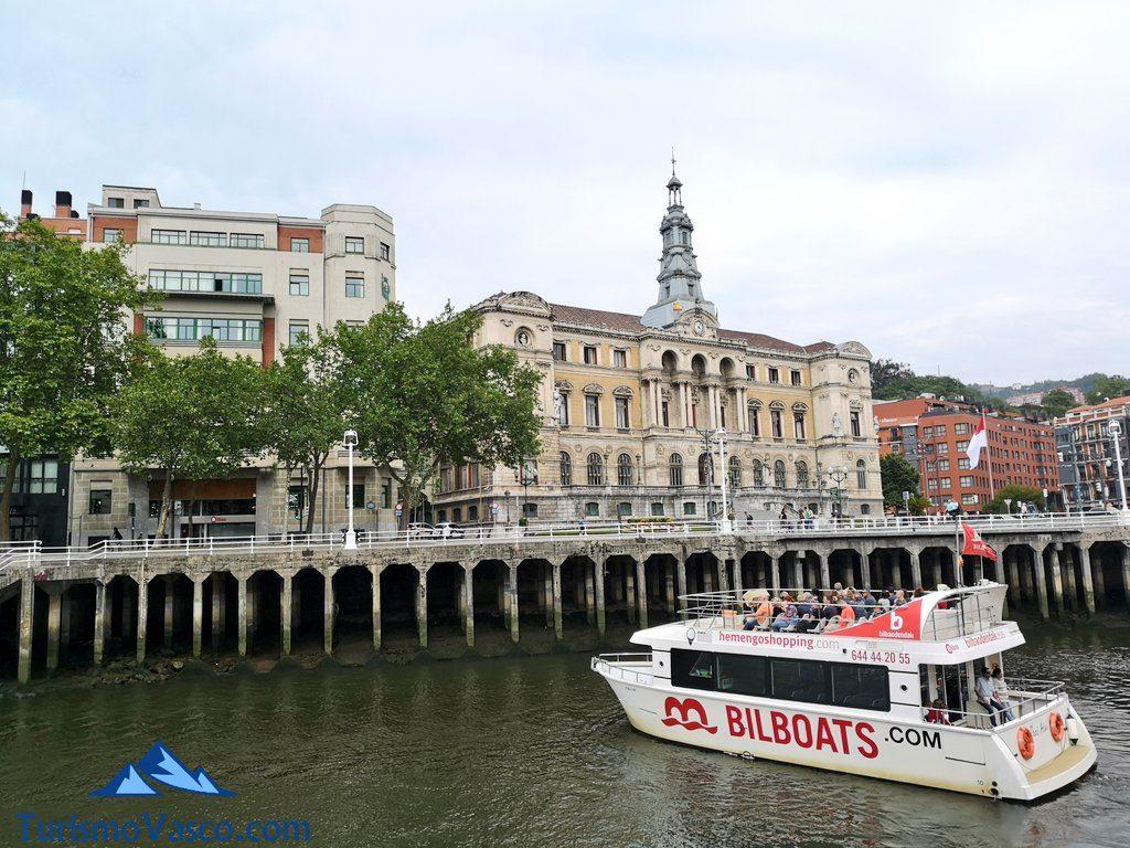 barco, bilboats rutas en barco bilbao