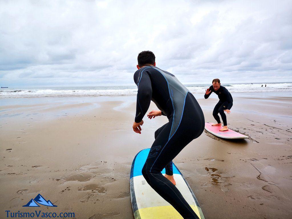 eneko acero clase ,surf en getxo