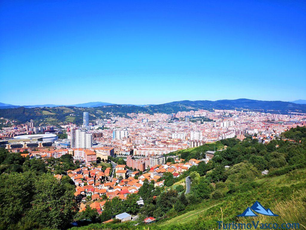 Bilbao desde Kobetas, los mejores miradores de Bilbao